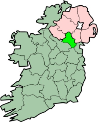 Plain Map Of Ireland.The Steels From Ireland To Pennsylvania